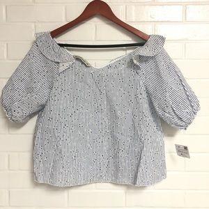 NEW Zara Basic XS Blouse